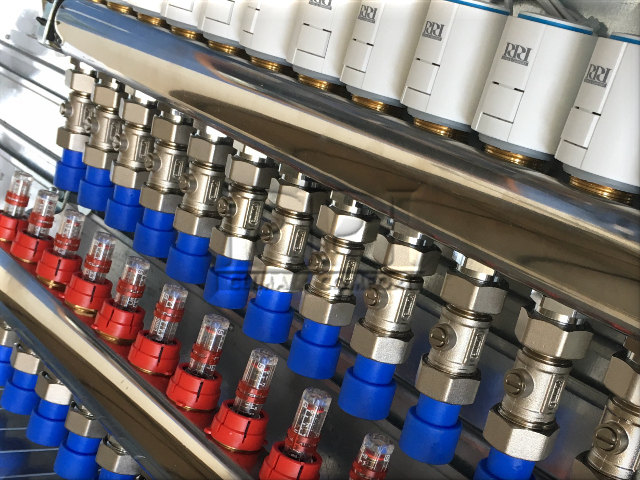 collettori per impianto radiante